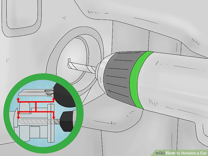 Wondrous 3 Quick And Easy Ways To Hotwire Your Car Wikihow Wiring Cloud Overrenstrafr09Org