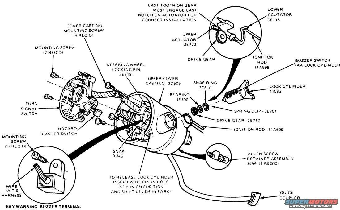 1990 ford ranger ignition wiring diagram zm 9571  1989 ford ranger steering column diagram together with  ford ranger steering column diagram