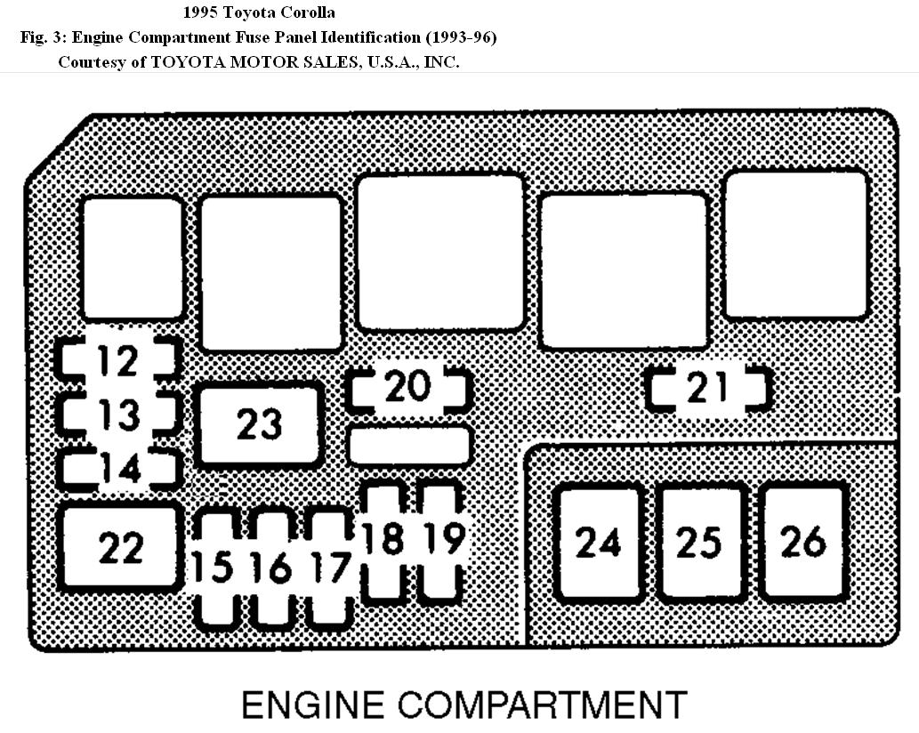 1993 Toyota Corolla Alternator Wiring Diagram