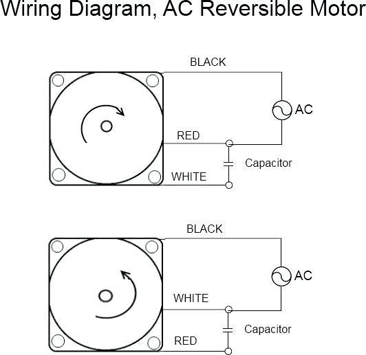 ac motor wiring  general wiring diagrams