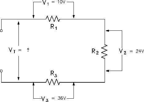 Superb Voltage In Series Circuit Basic Electronics Wiring Diagram Wiring Cloud Faunaidewilluminateatxorg