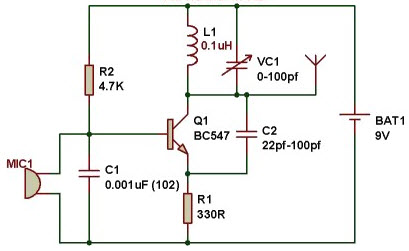 Admirable Fm Transmitter Circuit Working And Its Applications Wiring Cloud Animomajobocepmohammedshrineorg