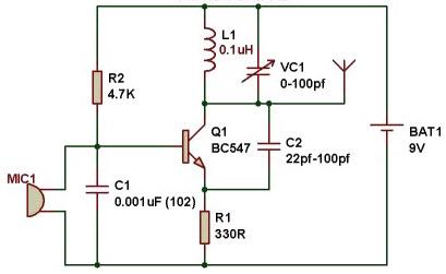 Astonishing Fm Transmitter Circuit Working And Its Applications Wiring Cloud Hemtshollocom