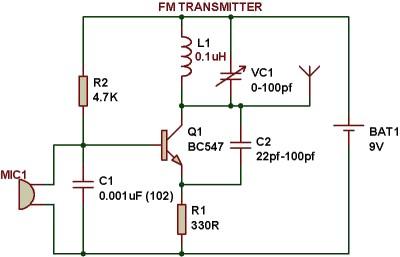 Fabulous Fm Bugger Block Diagram Basic Electronics Wiring Diagram Wiring Cloud Genionhyedimohammedshrineorg