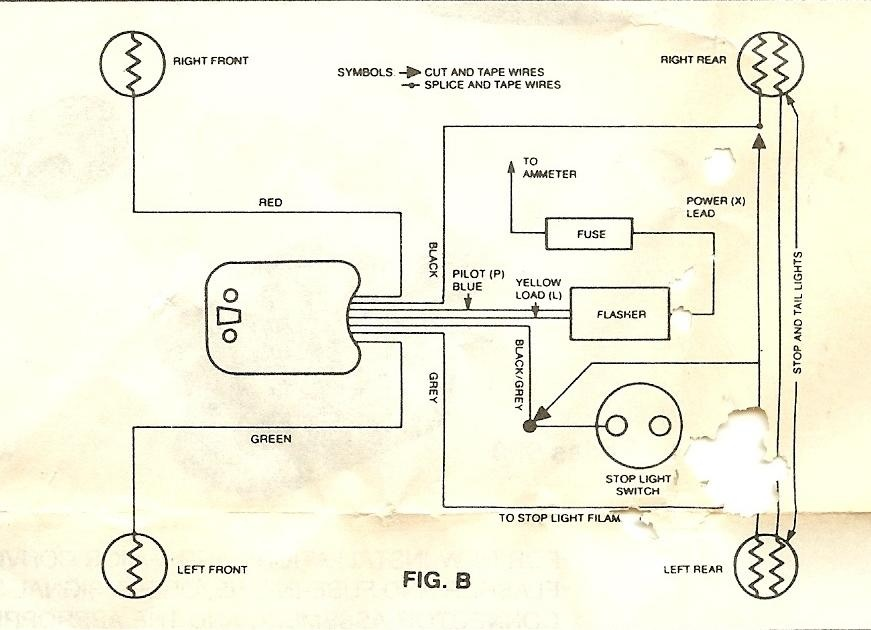 wiring diagram for signal stat 700 yk 7540  signal stat turn signal switch wiring diagram  stat turn signal switch wiring diagram
