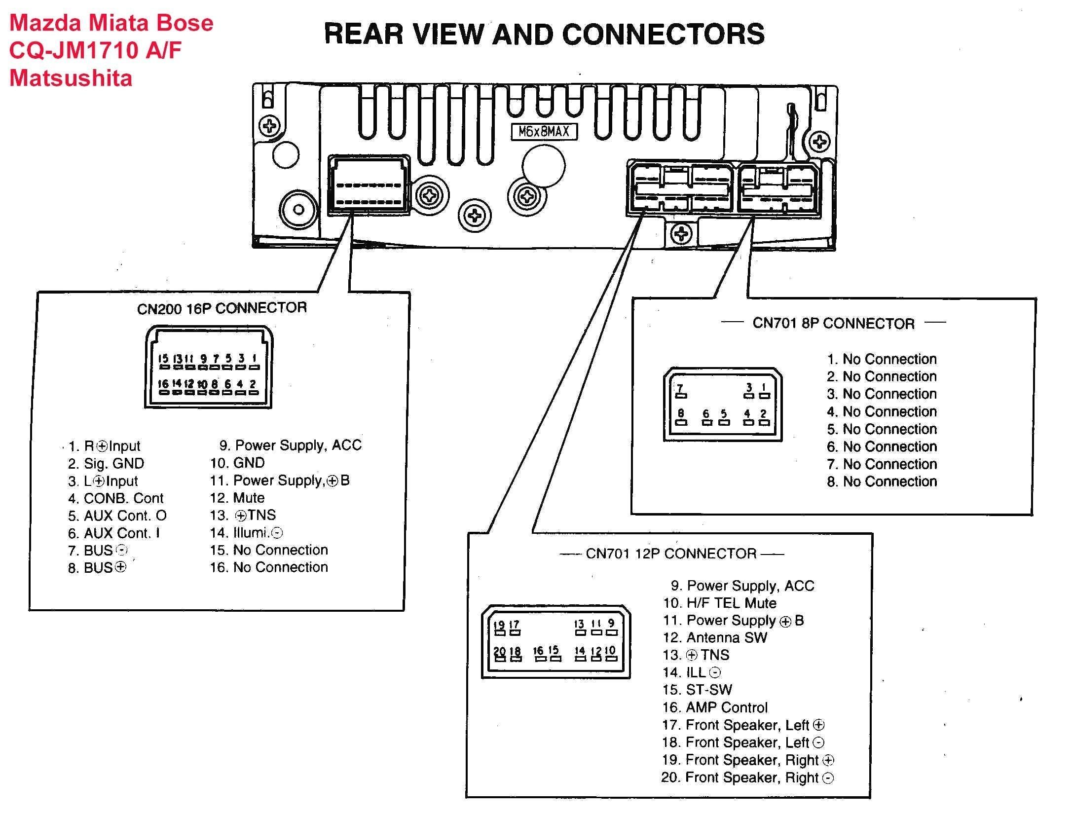Panasonic Cd Player Wiring Harness - 96 F150 Radio Wiring Diagram for Wiring  Diagram Schematics   Will Burt Detek System Wiring Diagram      Wiring Diagram Schematics