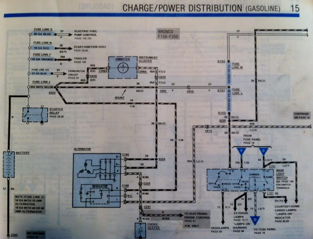 1984 ford f 250 wiring diagram - wiring diagram data 1984 ford f 150 truck alternator wiring diagrams ford alternator wiring diagram internal regulator tennisabtlg-tus-erfenbach.de