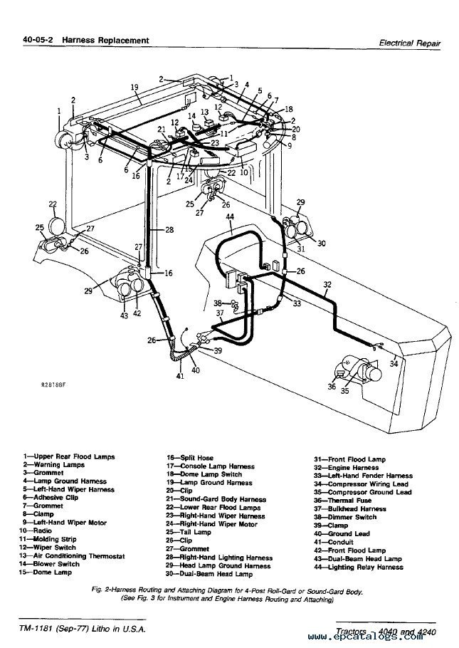 Sensational John Deere 4040 Wiring Diagram Free Download Wiring Diagram Wiring Cloud Loplapiotaidewilluminateatxorg