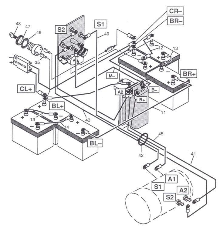 Tw 3778 Ez Go 36 Volt Wiring Diagram Free Diagram