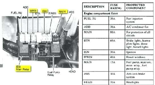 2001 Kia Sportage Fuse Diagram Wiring Diagram Regular Regular Cfcarsnoleggio It