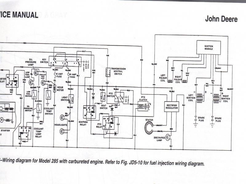 John Deere 1445 Mower Wiring Diagram