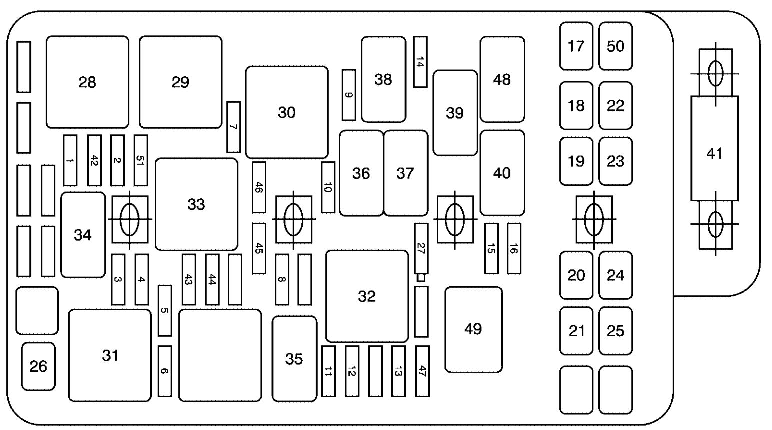 [SCHEMATICS_4ER]  CH_9809] 2007 Pontiac G6 Engine Compartment Fuse Panel Relay And Circuit  Protected Free Diagram | 2007 Pontiac G6 Fuse Box Diagram |  | Ilari Viewor Mohammedshrine Librar Wiring 101