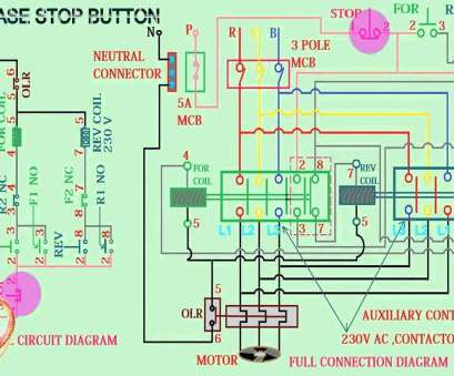 We 1926 Single Phase 2 Pole Contactor Wiring Diagram Free Diagram