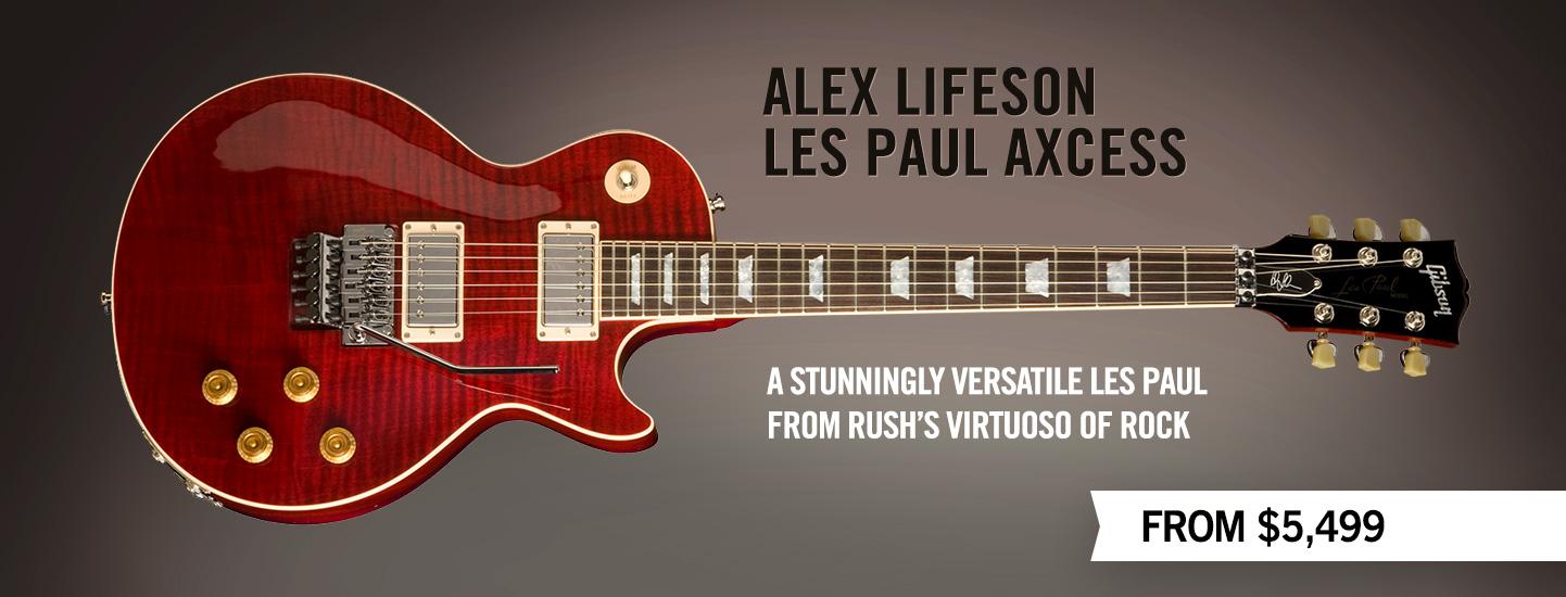 Terrific Gibson Guitar Gibson Custom Alex Lifeson Les Paul Axcess Wiring Cloud Apomsimijknierdonabenoleattemohammedshrineorg