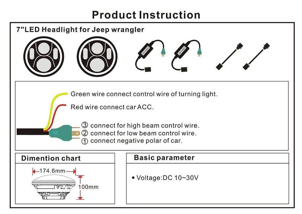 Kk 8801  Halo Headlight Wiring Diagram Free Diagram