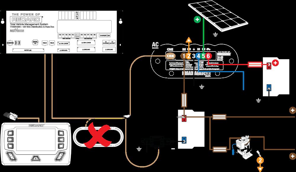 Fantastic How To Add Redvision To An Existing Bms Setup Redarc Electronics Wiring Cloud Xempagosophoxytasticioscodnessplanboapumohammedshrineorg