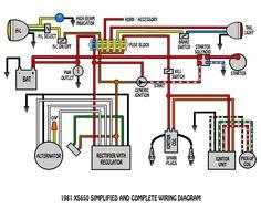 Strange Xs650 Bobber Wiring Diagram Basic Electronics Wiring Diagram Wiring Cloud Genionhyedimohammedshrineorg