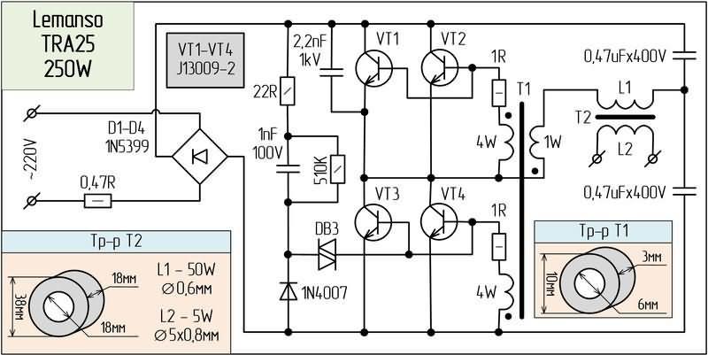 Ka 2550  12v Cfl Circuit Diagram Wiring Diagram