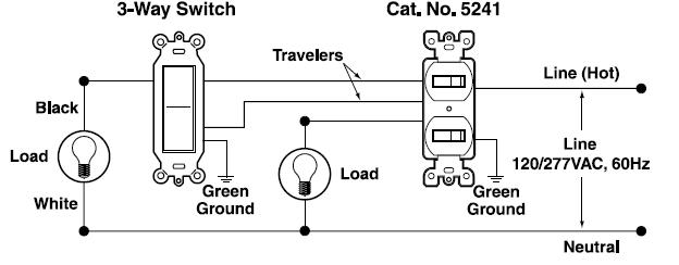 YC_5026] Leviton 5603 3 Way Switch Wiring Diagram Free DiagramNone Salv Nful Rect Mohammedshrine Librar Wiring 101
