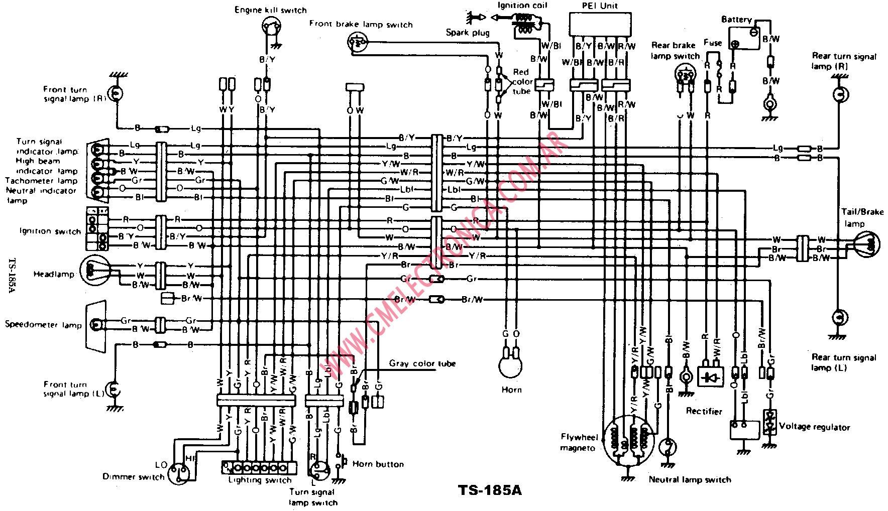 1989 suzuki sidekick wiring diagrams rh 5826  suzuki ts 185 wiring diagram besides suzuki sidekick  wiring diagram besides suzuki sidekick