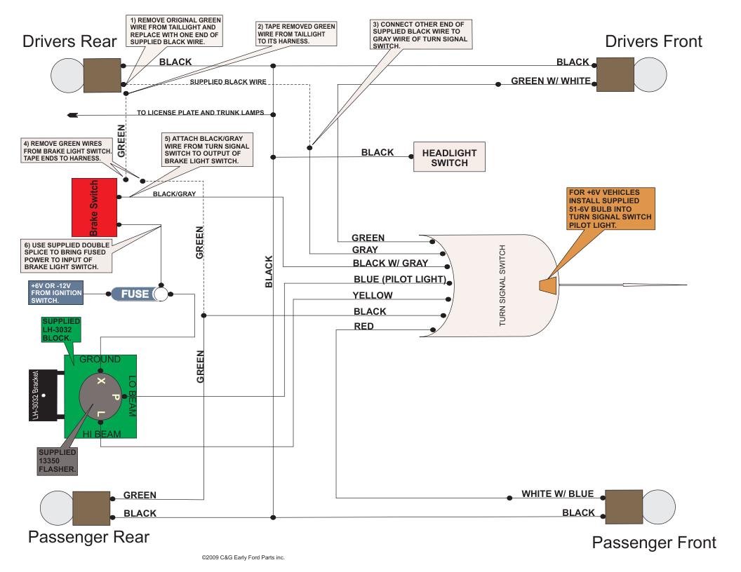 willys turn signal flasher diagram bc 7421  wiring diagram on everlasting turn signal switch wiring  everlasting turn signal switch wiring