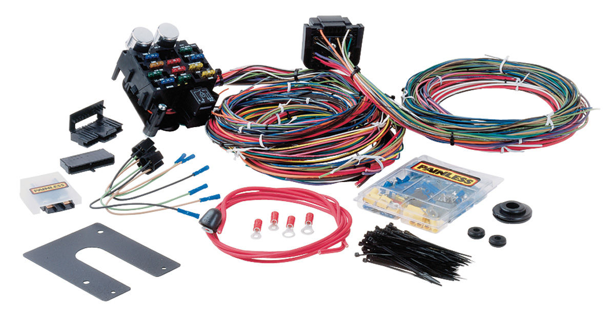 Astonishing Painless Performance Wiring Harness Muscle Car 21 Circuit Classic Wiring Cloud Uslyletkolfr09Org