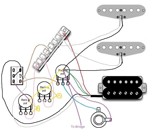 Guitar Hsh Wiring Diagram