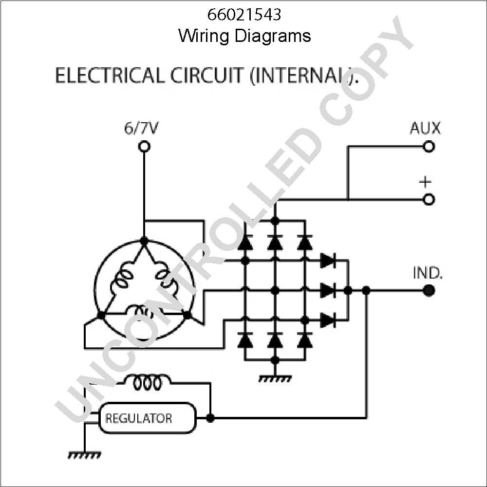 65 Mustang Alternator Wiring Diagram