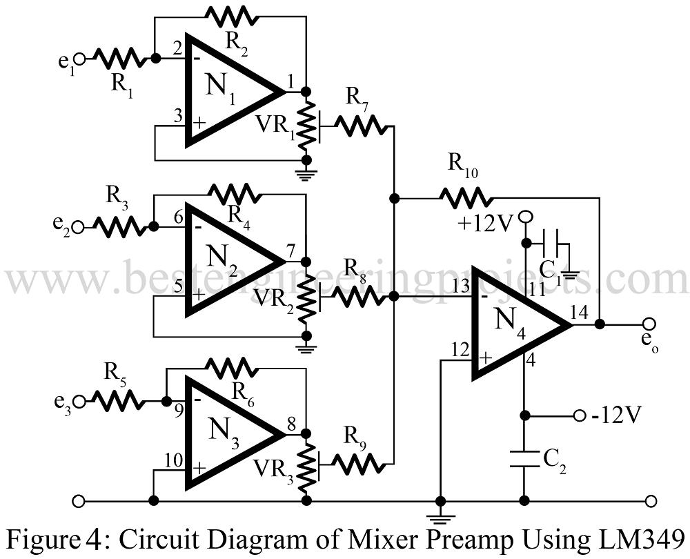 Superb Audio Mixer Circuit Engineering Projects Wiring Cloud Counpengheilarigresichrocarnosporgarnagrebsunhorelemohammedshrineorg