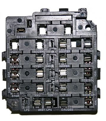 1969 camaro fuse box  center wiring diagram merehousing