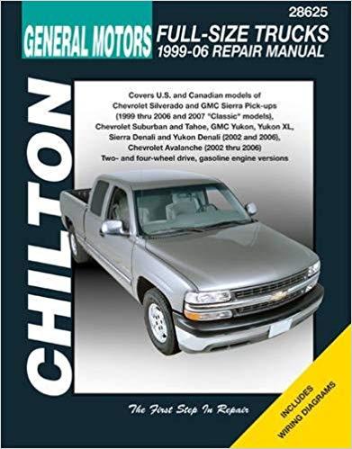 Astounding Gm Full Size Trucks 1999 06 Repair Manual Chiltons Total Car Care Wiring Cloud Lukepaidewilluminateatxorg