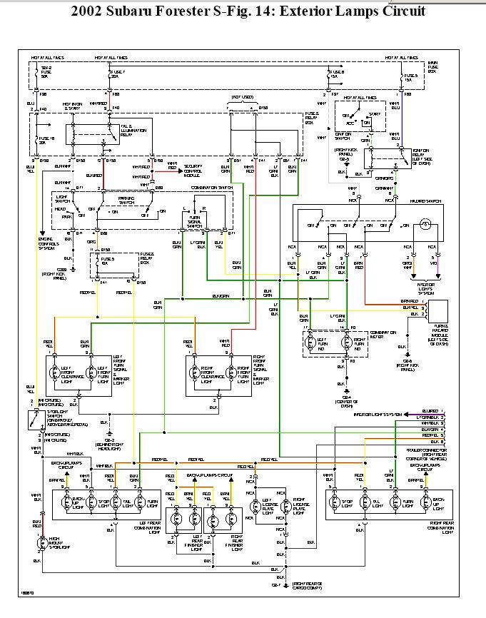 wo4074 02 subaru forester wire diagrams wiring diagram