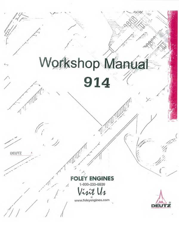 Deutz 914 Spare Parts Catalogue