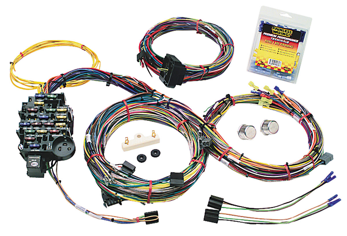 Magnificent Universal Painless Wiring Harness Wiring Library Wiring Cloud Gufailluminateatxorg