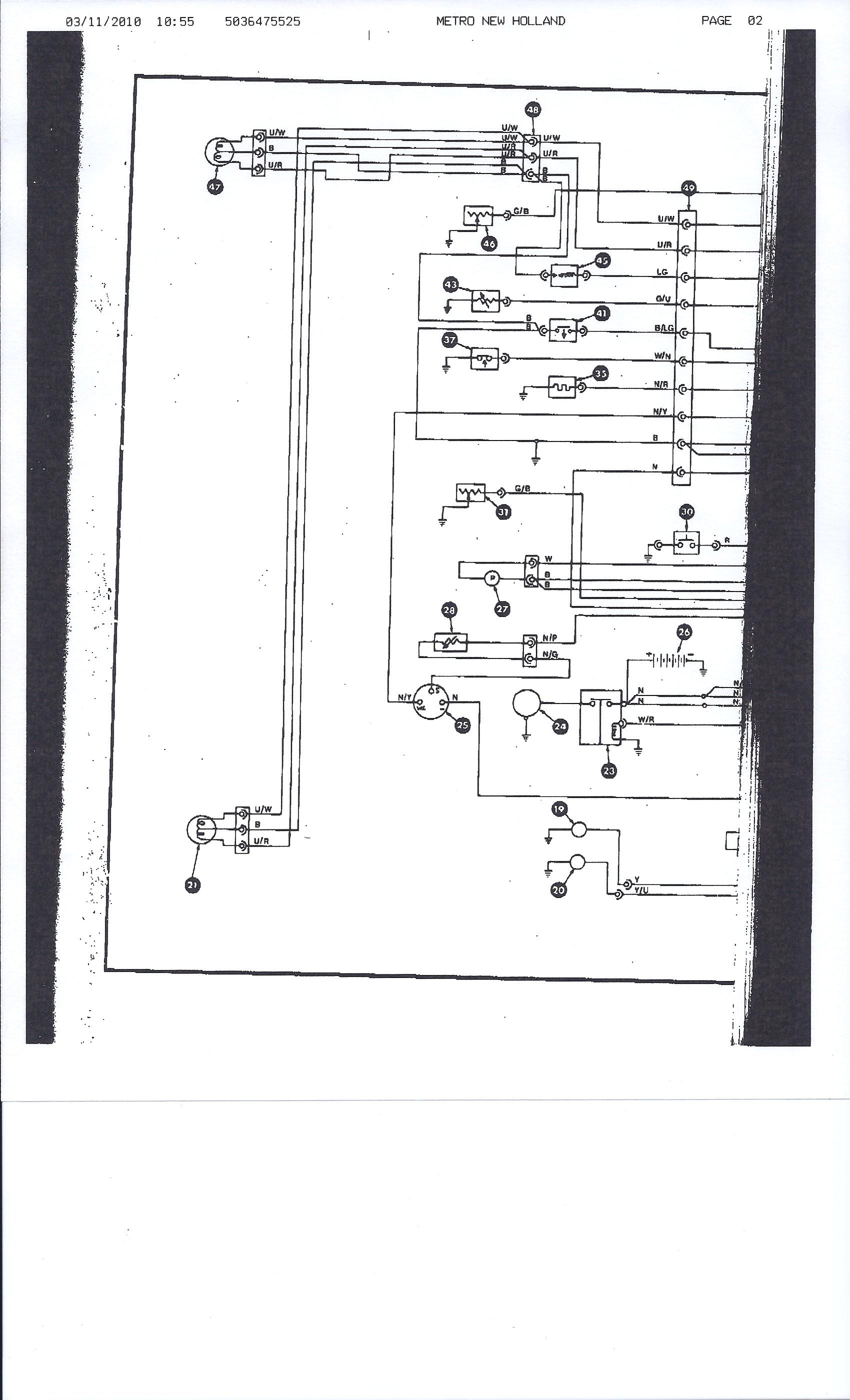 EE_4339] Naa Ford Tractor Electrical Wiring Diagram Schematic Wiring