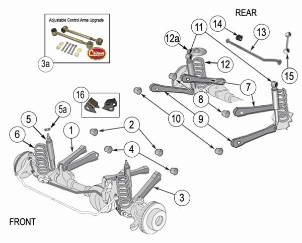 Admirable Jeep Wrangler Tj Suspension Parts Exploded View Diagram Years 1997 Wiring Cloud Histehirlexornumapkesianilluminateatxorg