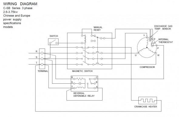 Single Phase Compressor Wiring Diagram