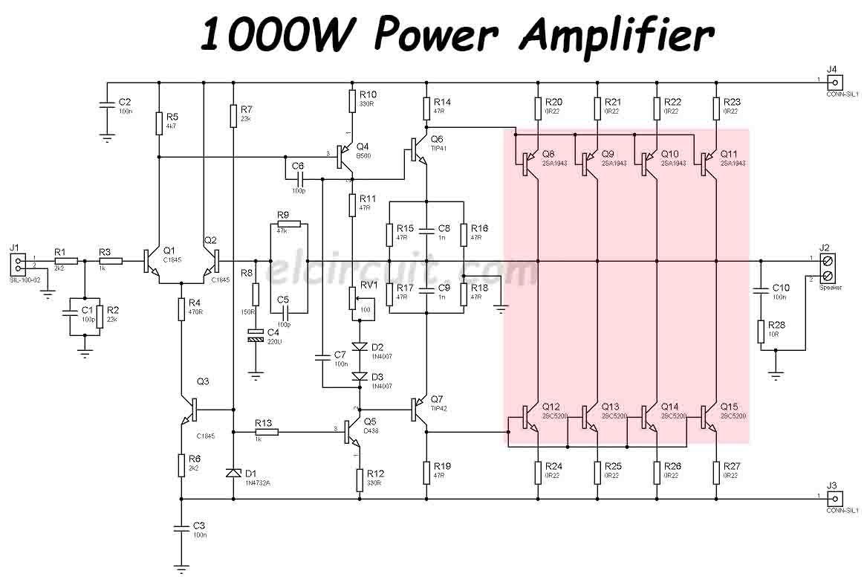 [SCHEMATICS_48ZD]  BC_1749] Audio Amplifier Circuit Diagram 1000W Wiring Diagram | Dc12v Audio 1000w Amplifier Circuit Diagrams |  | Gho Benol Trua Dupl Eachi Hendil Mohammedshrine Librar Wiring 101