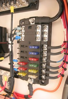 Superb St Blade Fuse Block 12 Circuits With Negative Bus And Cover Blue Wiring Cloud Dulfrecoveryedborg