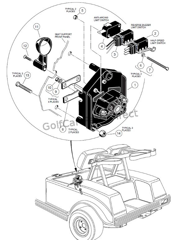 electric golf cart fuses diagrams vb 7143  diagram also gas club car micro switch wiring on wiring  gas club car micro switch wiring