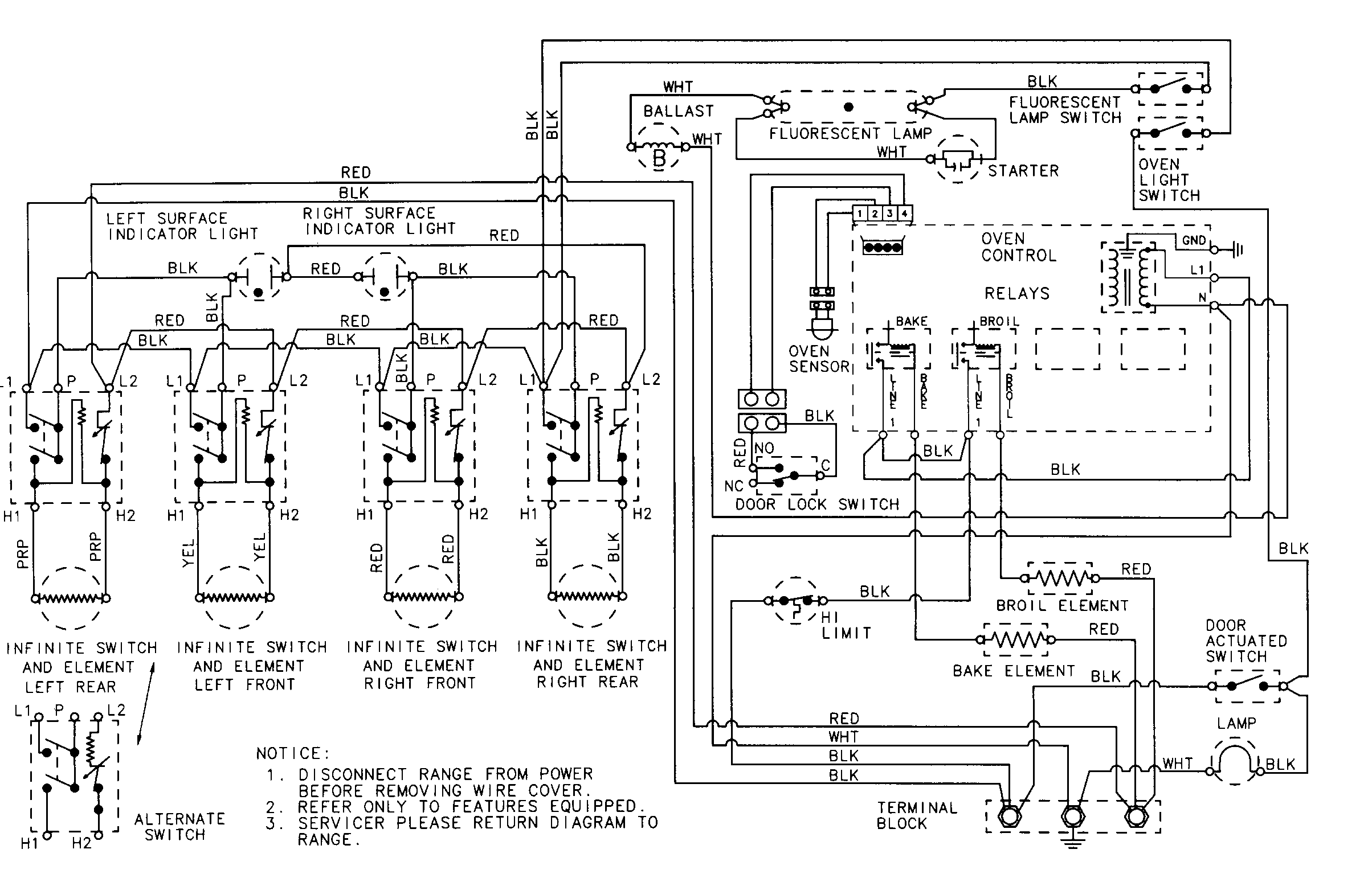 Whirlpool Cooktop Wiring Schematic