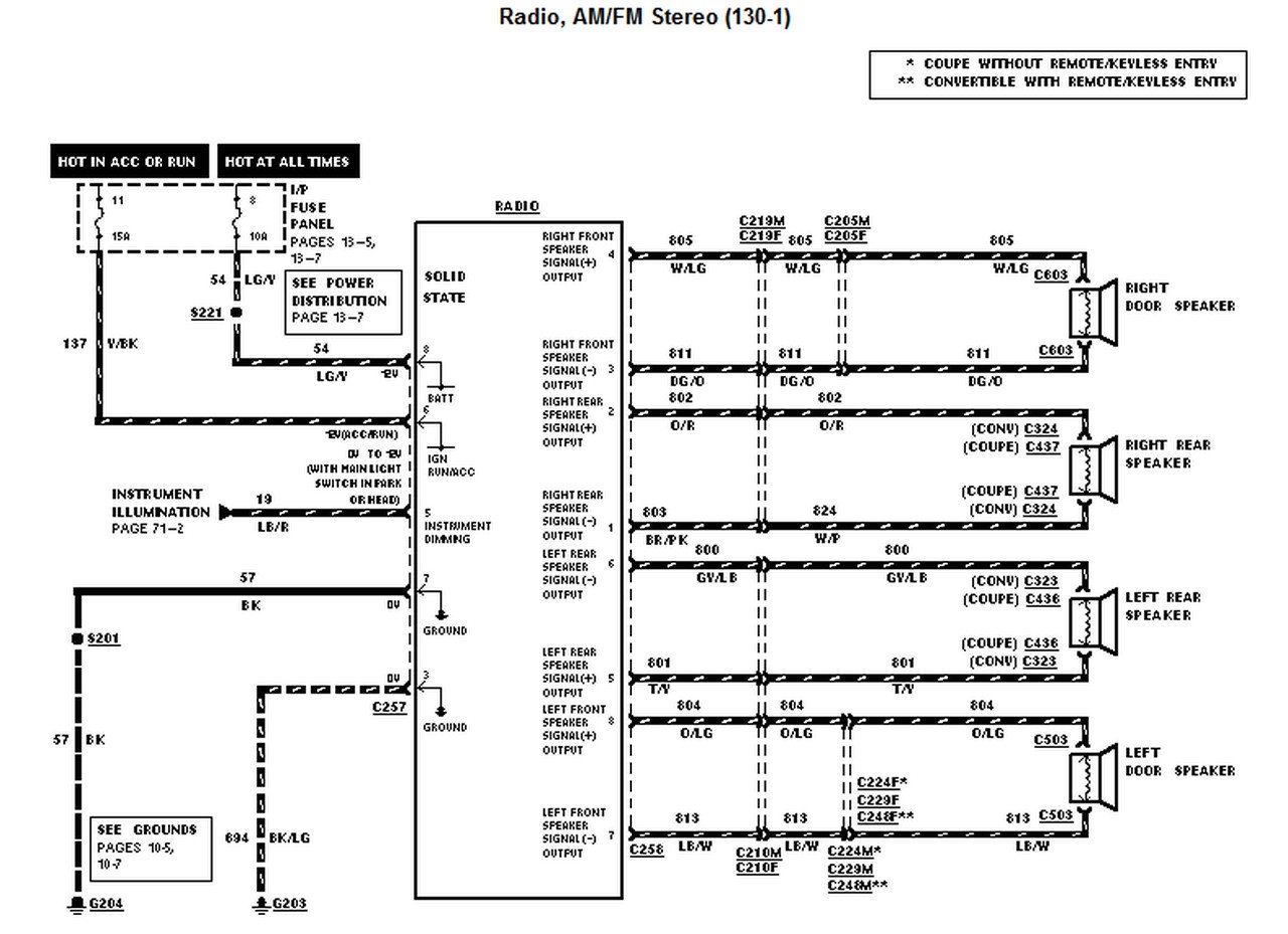 2001 Mustang Mach 460 Stereo Wiring Diagram Wiring Diagram Page Best C Best C Granballodicomo It