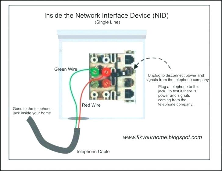 Telephone Line Wiring Diagram