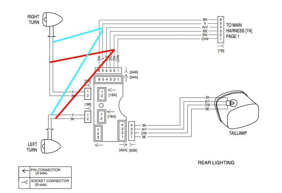 2009 harley flhx wiring harness diagram sx 4395  badlands turn signal wiring diagram harley  badlands turn signal wiring diagram harley