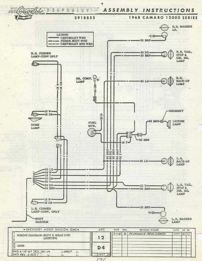 68 Camaro Rear Harness Diagram - seniorsclub.it component-ideas -  component-ideas.hazzart.itHazzart