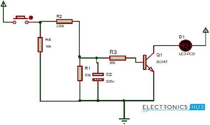 Surprising How Up Down Fading Led Lights Circuit Works Electronics Diy Wiring Cloud Hemtshollocom