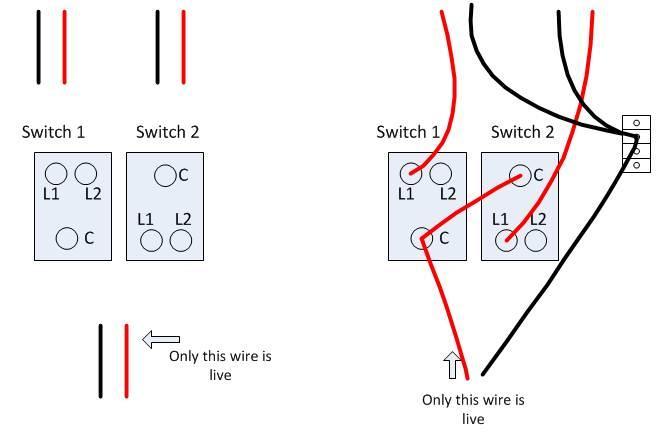 Stupendous Change 2 Gang 1 Way Light Switch In Kitchen Wiring Probs Wiring Cloud Hisonepsysticxongrecoveryedborg