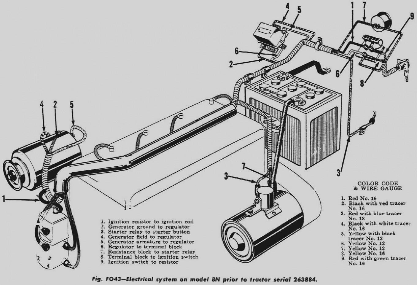 1952 ford 8n 12 volt wiring diagram xv 5290  side mount distributor 8n ford tractor 8n ford tractor  side mount distributor 8n ford tractor