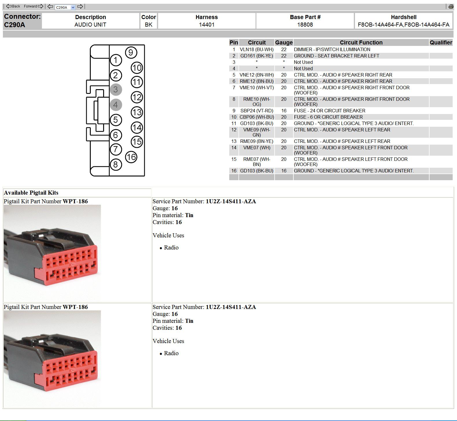 99 Ford Taurus Radio Wiring Diagram Wiring Diagram Approval A Approval A Zaafran It