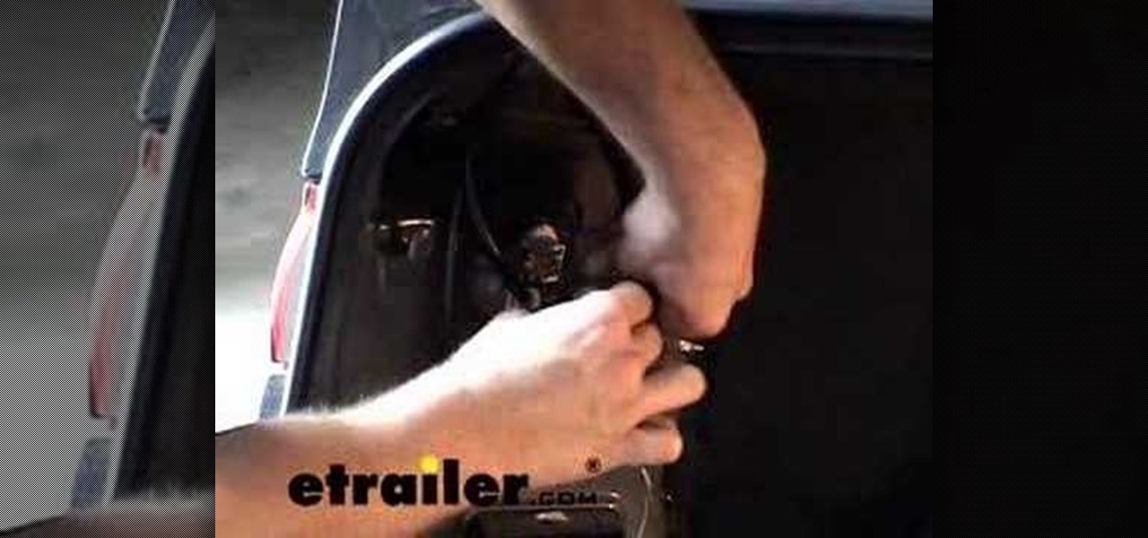 Groovy How To Install A Trailer Wiring Harness On A Toyota Camry Car Mods Wiring Cloud Licukshollocom
